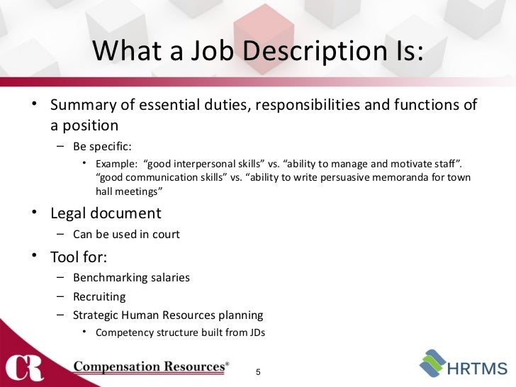 Awesome ... 5. What A Job ... To How To Write A Job Summary