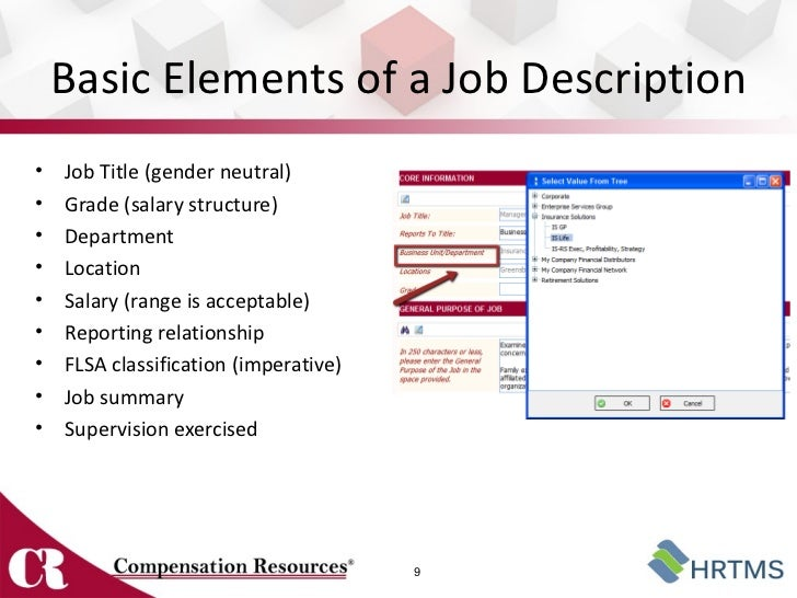 ... Job Summaryu2022 Supervision Exercised 8; 9.  How To Write A Job Summary