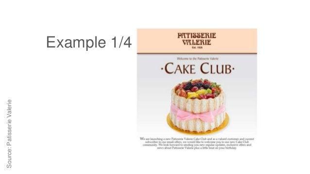 Source:PatisserieValerie Example 1/4