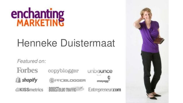 Henneke Duistermaat Featured on: