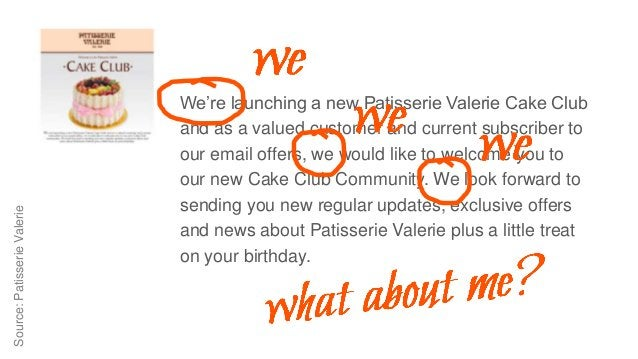 Source:PatisserieValerie We're launching a new Patisserie Valerie Cake Club and as a valued customer and current subscribe...