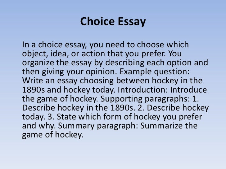 choice essay examples co choice essay examples
