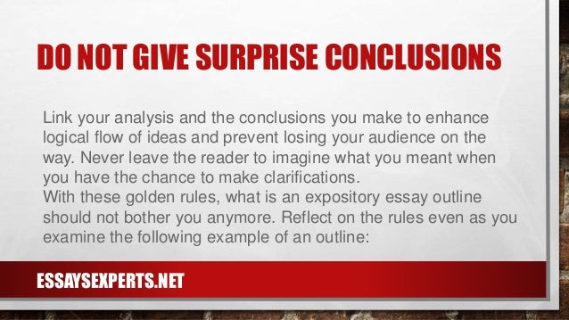 definition of expository essay
