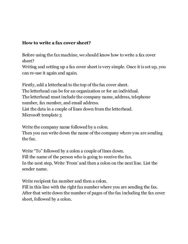 Basic Fax Cover Letter from image.slidesharecdn.com