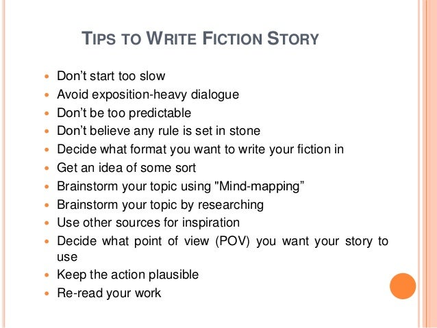 a fictional story on how to write Posts about fictional narrative / short story written by john spencer visual writing prompts search main menu skip to primary content  write that epic.