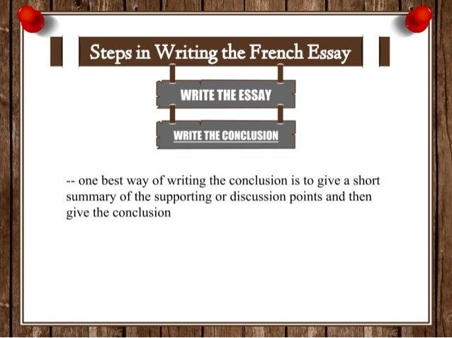 best ways of writing an essay