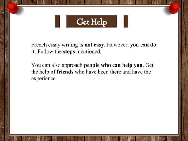 how to write french in french