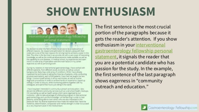 How to Write Good Fellowship Personal Statement