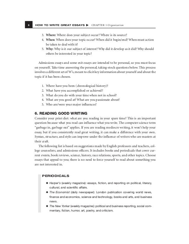 Topics For Synthesis Essay   How To Write Great Essays  Proposal Example Essay also Narrative Essay Examples For High School How To Write Great Essays Essay Science And Religion