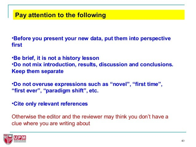 how to write great research