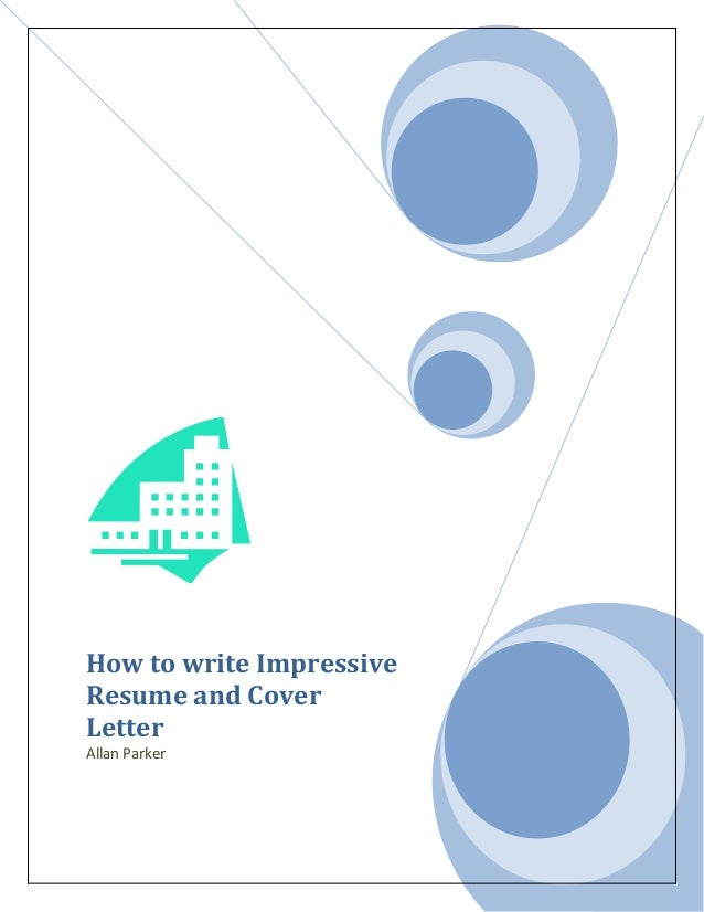 writing impressive cover letters