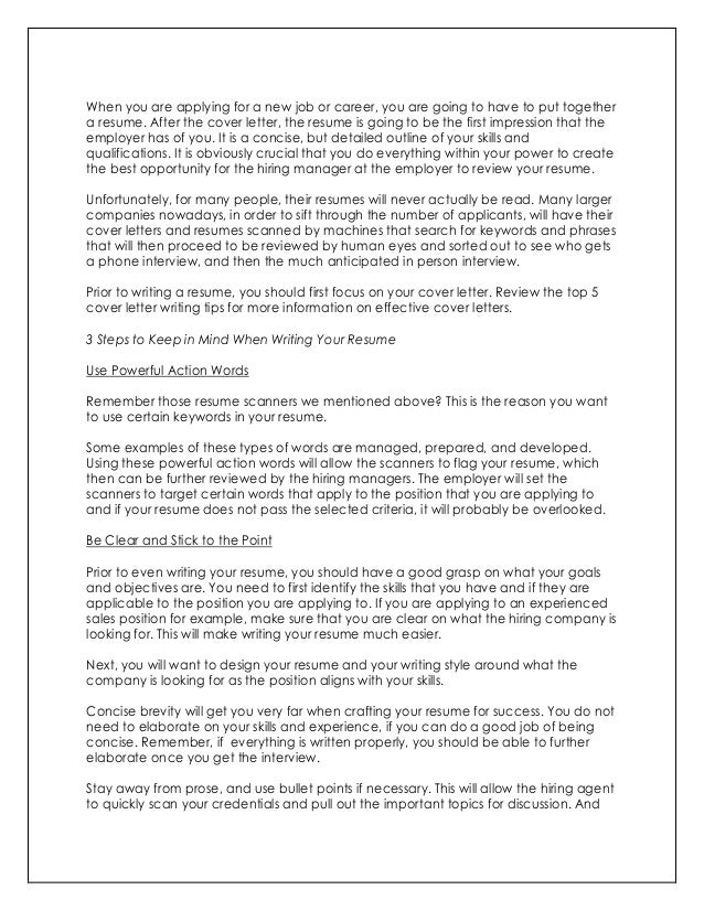 order cover letter resume brefash - How To Make A Cover Letter For A Resume