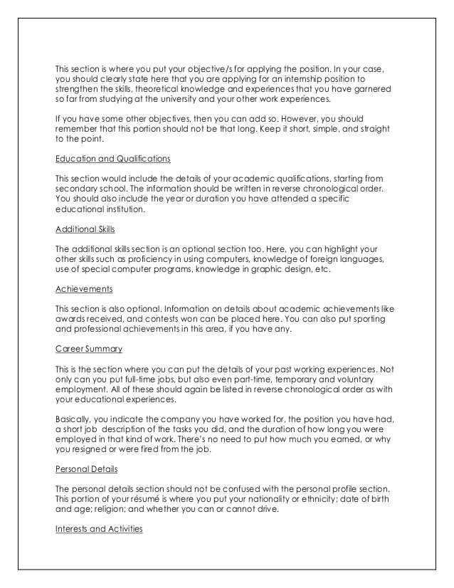 objective 9 what to put on a cv cover letter - What Should I Put On A Cover Letter