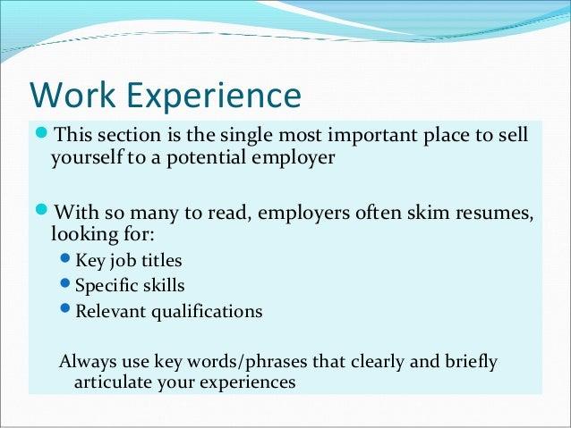 how to write job winning resume