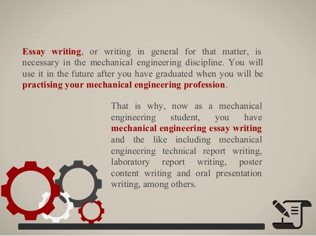 technical essay for mechanical