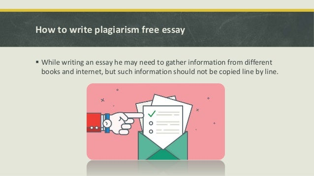 Plagiarism free essays for free