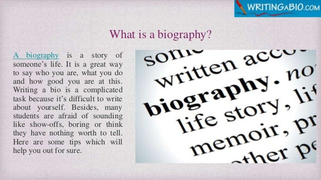 Is bio what a What is