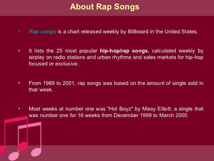 How to write rap songs