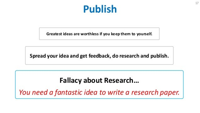 why do i need to learn to write a research paper Introduction to research before you commit to a specific topic for your research, do a scan to make sure that your topic isn when writing a research paper.