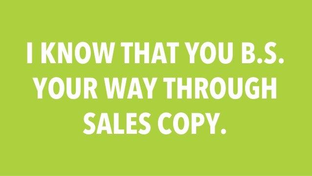How To Write Sales Copy Like A Pro Slide 3
