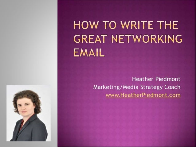 Networking: how should you approach a potential contact?