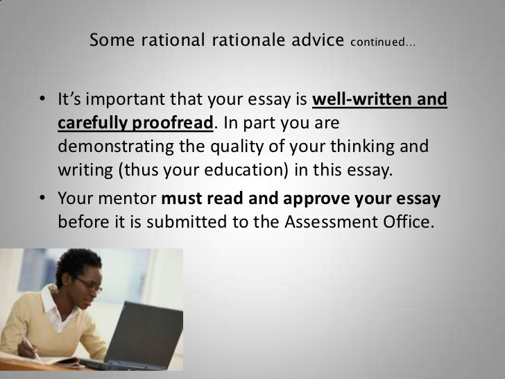 How to write dissertation rationale