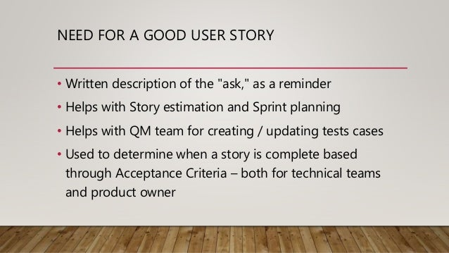writing good user stories