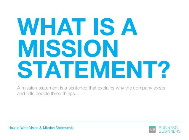 Writing A Parish Mission Statement