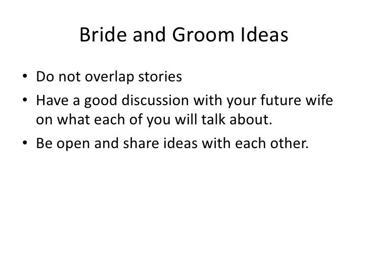 Groom Speeches and Toasts!...