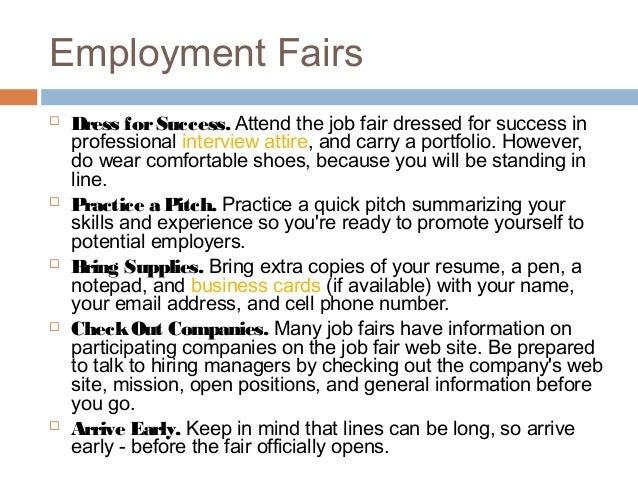 employment - Job Fair Letter Of Intent