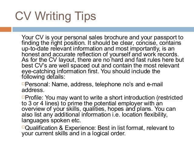 write work experience in your cv      Writing     IrishJobs ie