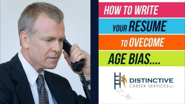 AGE BIAS / AGE DISCRIMINATION IN THE JOB SEARCH CAN BE A REAL ISSUE FOR SOME JOB SEARCHERS. Unfortunately, many job seeker...