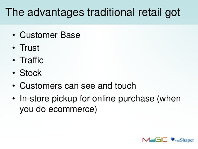 combined benefits of traditional commerce and e commerce E-commerce -- electronic commerce or ec -- is the buying and selling of goods and services, or the transmitting of funds or data, over an electronic network, primarily the internet these business transactions occur either as business-to-business, business-to-consumer, consumer-to-consumer or .
