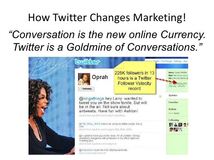 How Twitter Changes Everything: Gravity Summit at Stanford Slide 2