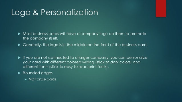 How to use business cards 11 logo personalization u most business cards reheart Choice Image