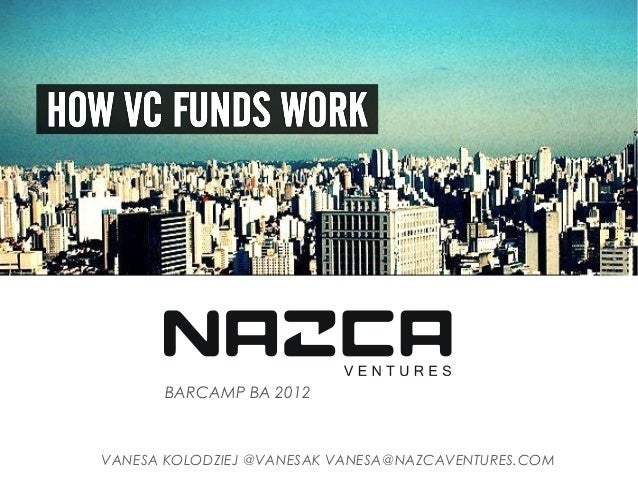 BARCAMP BA 2012VANESA KOLODZIEJ @VANESAK VANESA@NAZCAVENTURES.COM