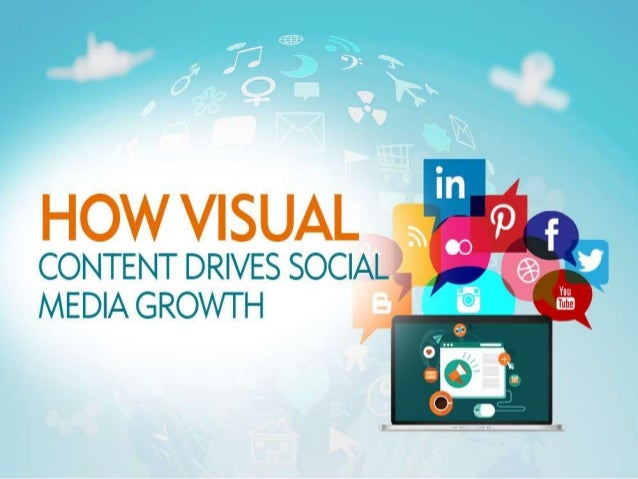 HOW VISUAL °  CONTENT DRIVES SOCIAL MEDIA GROWTH