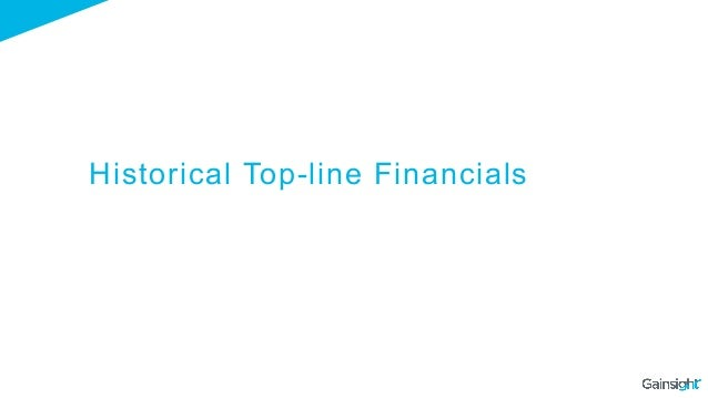 Historical Top-line Financials