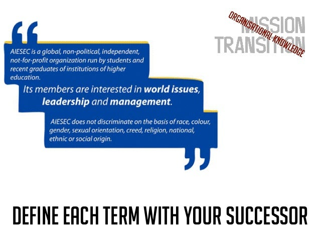 How Well Do You Know Our Organisation Cb Aiesec Live The Experience