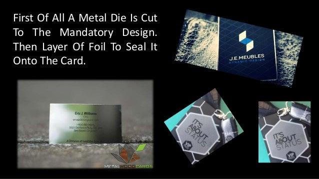 How we make the metal business cards impressive 7 colourmoves