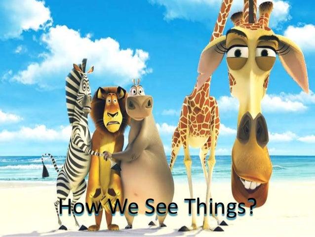 How We See Things?