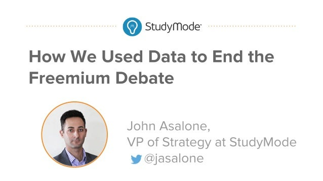 How We Used Data to End the Freemium Debate