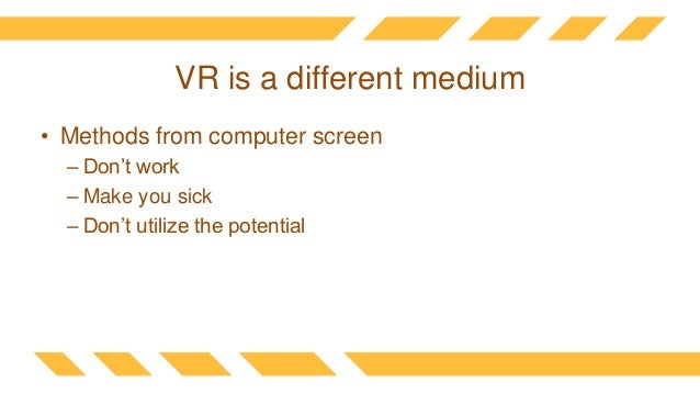 How we use vr to break the laws of physics Slide 3