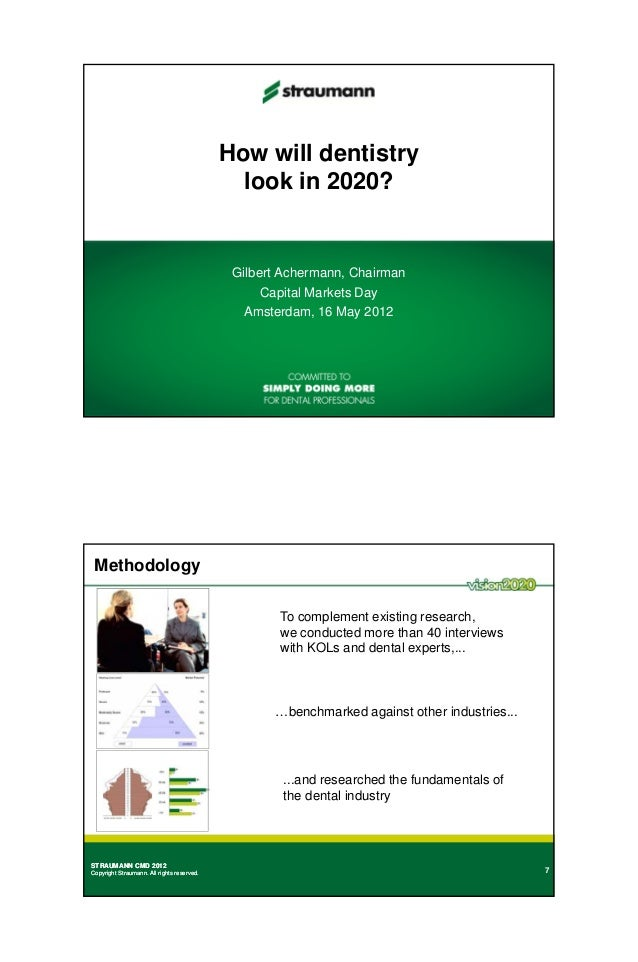 How will dentistry                                              look in 2020?                                             ...