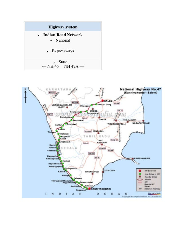 How Will You Find Out A Nh Route Map In Tamilnadu - Road map of nh