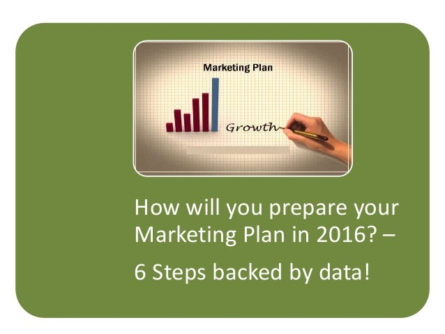 How will you prepare your Marketing Plan in 2016? – 6 Steps backed by data!