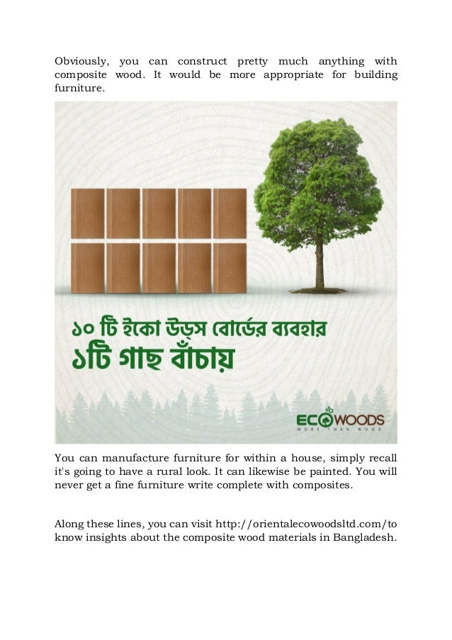 a6717bcd9ebf How would you make furniture with composite wood in bangladesh