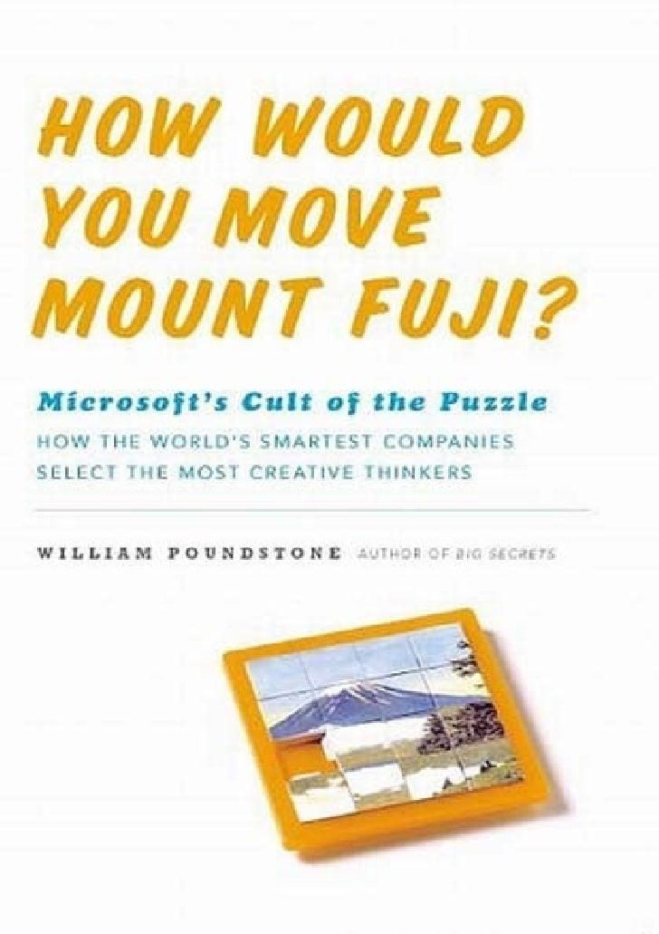 How would you_move_mount_fuji