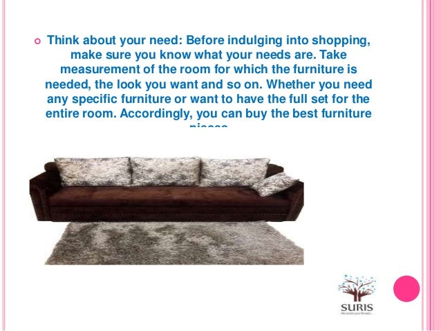 . How you can buy furniture online
