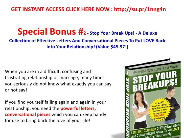 How You Can Easily Bring Back Your Love